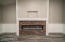 Family Room Stunning Fireplace With Crown Molding