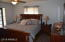 Master bedroom with private exit to backyard/pool