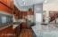 Lovely remodeled Kitchen with new appliances, cabinets, fixtures, island and granite