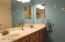 Hall Bath Dual Sinks