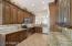 Beautiful granite counter tops and back plash