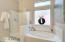 Full soaking tub and new glass shower enclosure