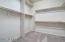 Large master closet. New Carpet