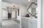 Beautifully inset wet bar is off the living room and perfect for entertaining.