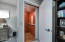 The private elevator brings you upstairs to the master bedroom in style.