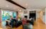 Family room/great room- 3 panel sliding glass pocket doors for in/out entertaining