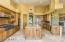 Kitchen #1 with Extensive Storage Cabinetry & Large Work Island