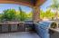 Outdoor kitchen with everything you good need