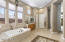 Master Bath with Separate Tub and Walk-In Shower
