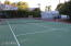 Full sized tennis court. Needs a resurface. Fully lighted surface for night time play.