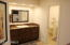 His/master vanity in executive wing.