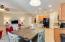 Granite Counters. Granite Island with Breakfast Bar. Refrigerator included!