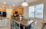 Spacious Eat In Kitchen , Tall cabinets, Granite tops, Soothing Neutral Palette.
