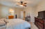 Oversized Master Bedroom opens to the Master Bath area.