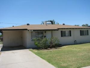 Great property at an affordable price near ASU campus  easy bike ride.  Property is currently occupied by students lease terminates July 31st.  Laminate wood flooring throughout in great room, kitchen and hallway.  The Landlord maintains  the landscape a which is  included with the lease.