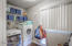 Large private Laundry Room located downstairs