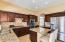 Beautiful Kitchen with SS appliances, granite and island