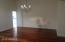 Engineered wood floors in living areas