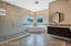 Master bath w/ giant walk-in shower and soaker tub