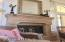 Canterra stone fireplace