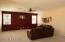 Huge living room.