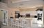 Cheery Kitchen with breakfast bar open to FR/DR