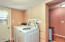 Large Laundry Room with Lots of Storage and Private Entry/Exit!!