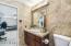 Beautifully upgraded Jack and Jill basement bathroom.