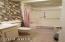 Full bath with soaking tub.
