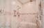 Master Bathroom - Walk In Shower with Rain Shower Head.