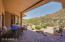 Extended Covered Pavered Patio with Spectacular Views