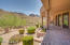Backyard with Extended Covered Pavered Patio, Spectacular Views of the McDowell Mountains, 197 plants, newly re-done irrigation system and plenty of room for a pool.