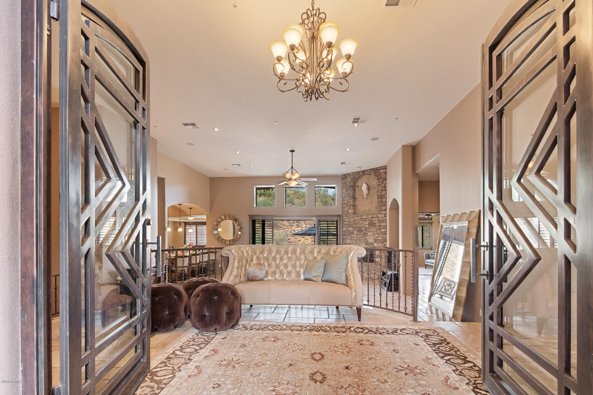 One of Fountain Hills 5 Bedroom Homes for Sale at 9749 N Fireridge Trail