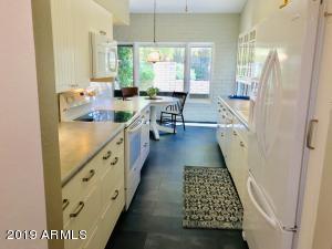 Tastefully updated white kitchen