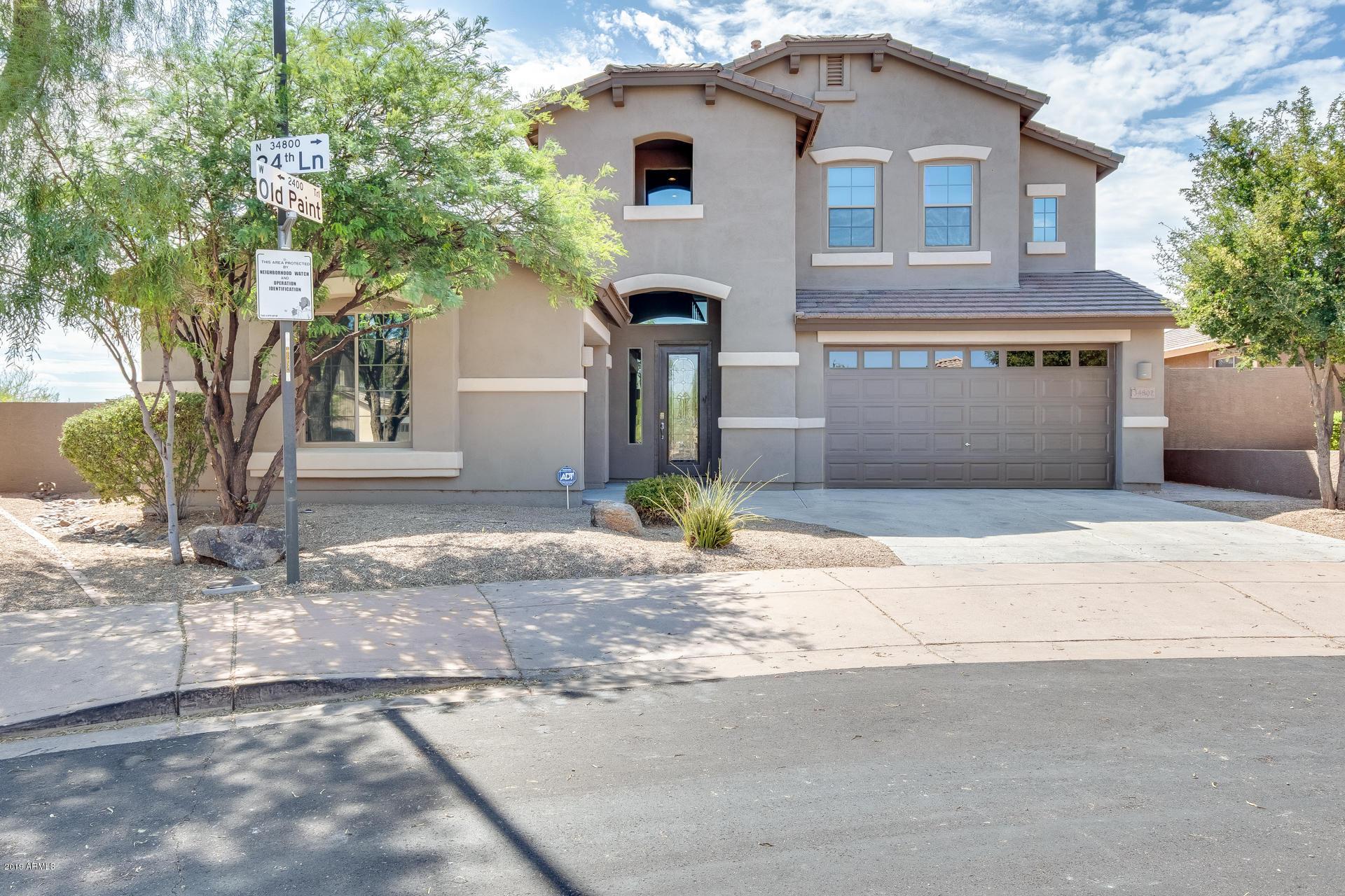 34802 N 24TH Lane, Phoenix North in Maricopa County, AZ 85086 Home for Sale