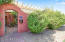 Entrance to Front, Private, Secure Courtyard with Custom Metal Gate