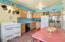 Kitchen with Period Tile, Butler's Door Leading to Backyard, Built-ins, Original Milk Slot & 1936 Roper Gas Stove