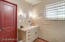 Large Master Bathroom (9x8) with Door Leading to 3rd Bedroom