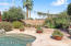 Part of Posh Backyard with Heated Saltwater Pool & Spa