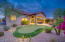 Gorgeous private lot with large open desert wash.