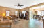 From the family and dining room access your private patio from the slider doors.
