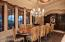 FORMAL DINING ROOM, BUILT-IN CHINA HUTCH