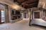 MASTER WITH BEAMED CEILING, GAS FIREPLACE, FOUR CEDAR CLOSETS