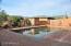 Huge brick patio around pool