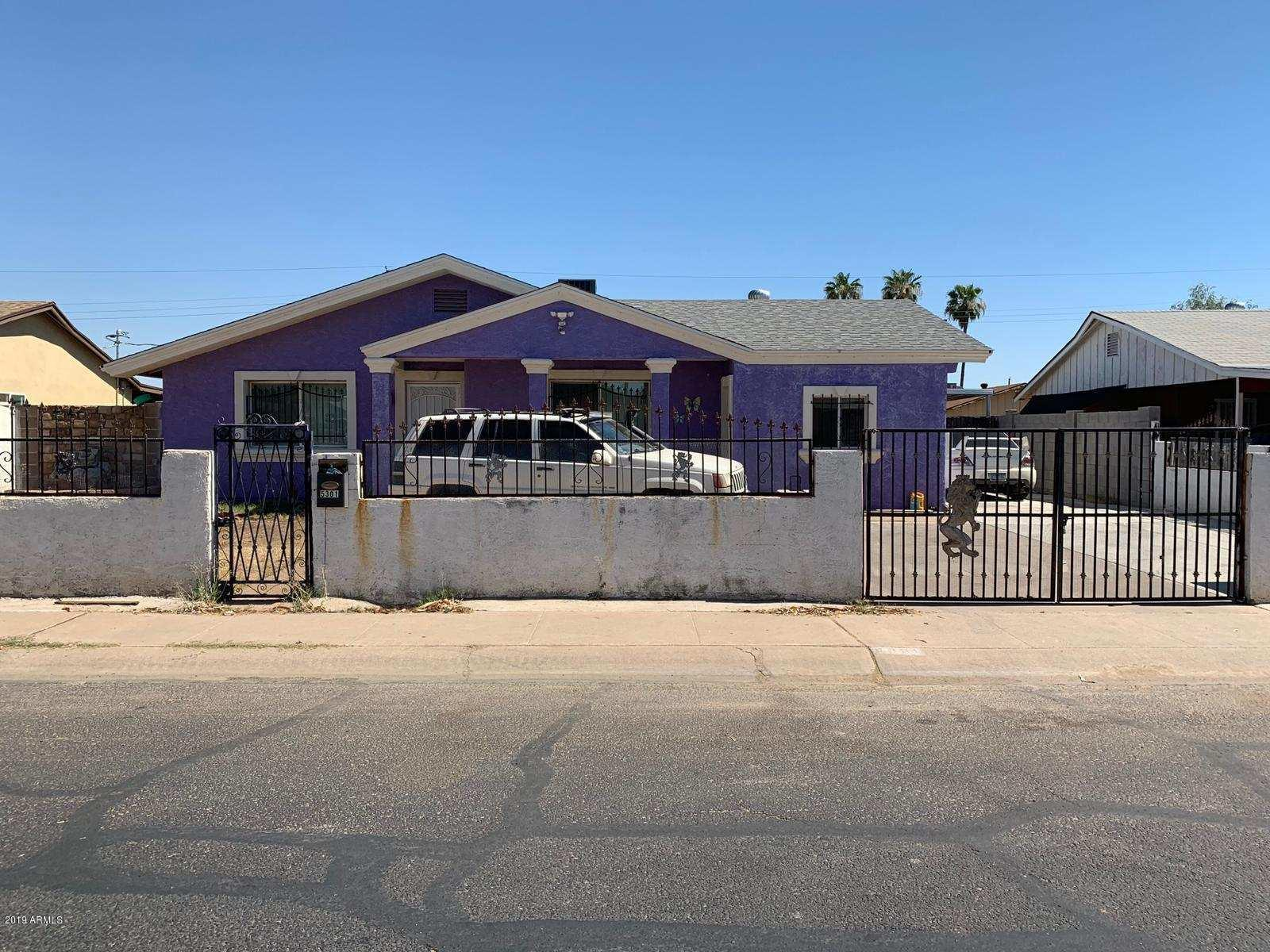 Photo of 5301 W VIRGINIA Avenue, Phoenix, AZ 85035