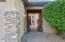 Front Walk to Gated Courtyard