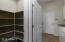 Pantry and View to Laundry Room