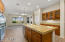 Chef's Kitchen with Stainless Appliances, Gas Cooktop, Granite Counters and Upgraded Cherry Cabinets