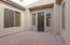 Gated and Pavered Courtyard Entry!