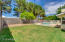 Oversized lot with plenty of green space
